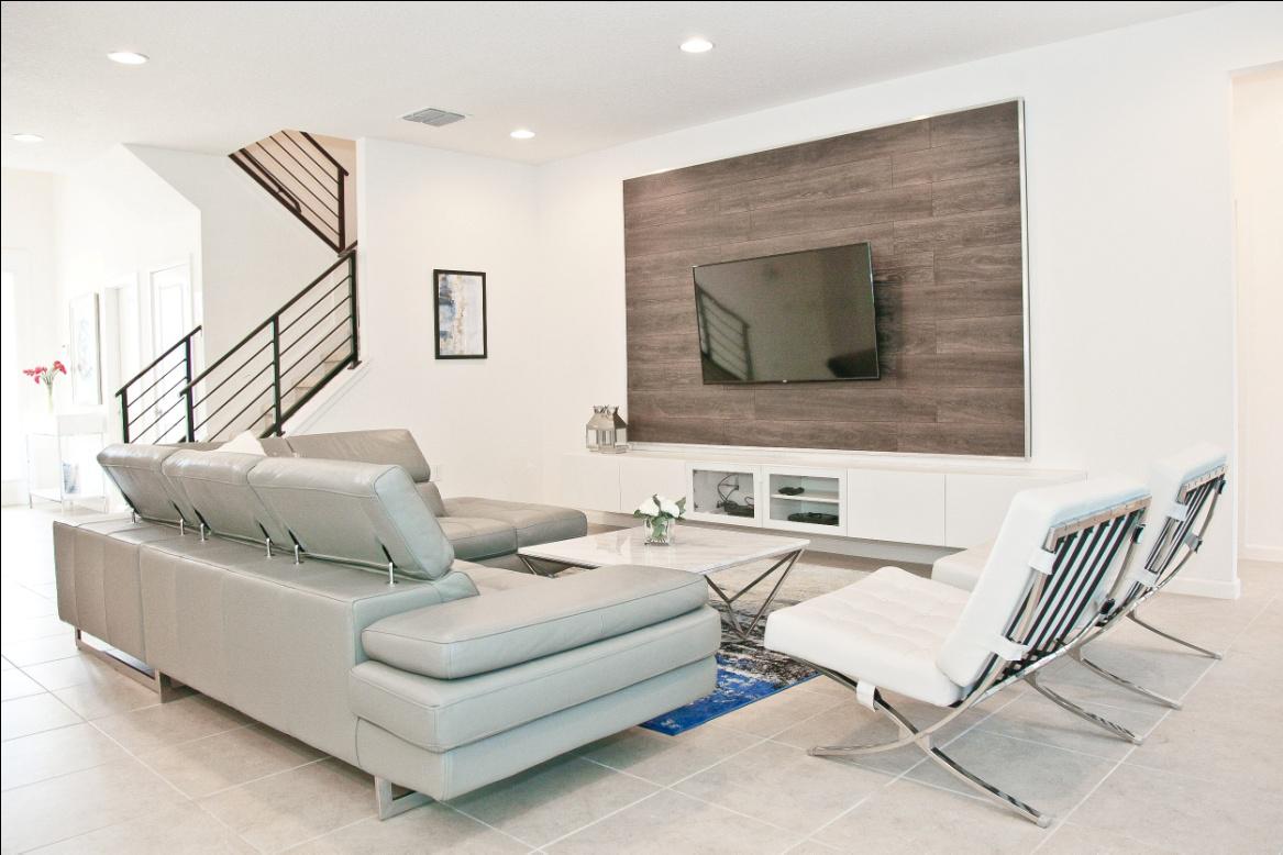 beautiful TV lounge