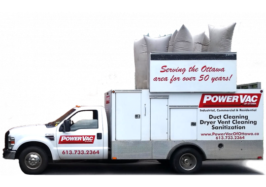 duct cleaning van