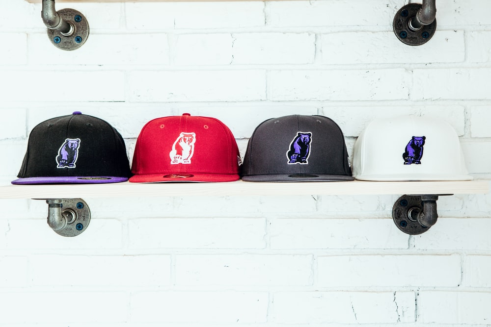 hats with logos