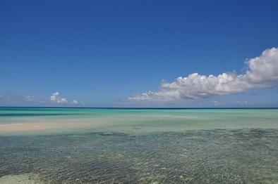 Miyako island ocean view