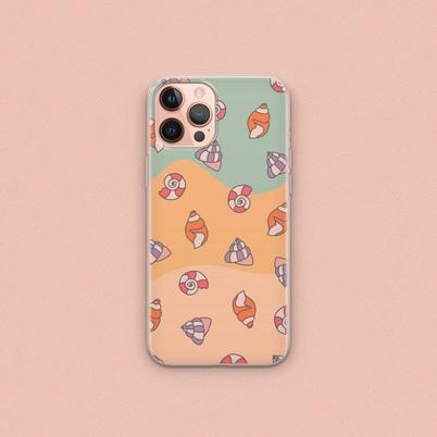 Sea shells phone case