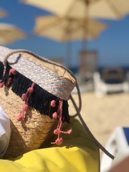 A beach bag.