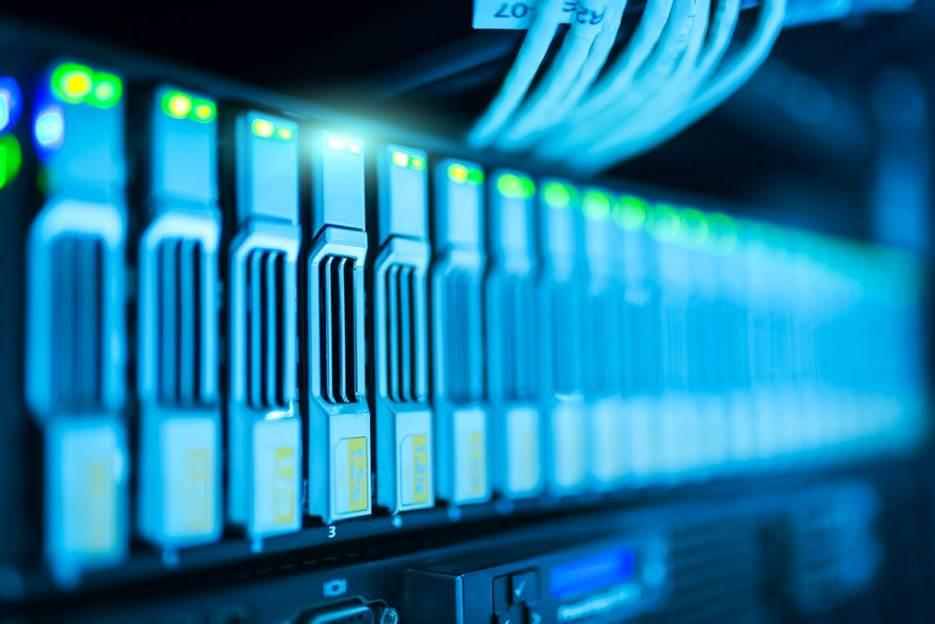 Data backup on servers