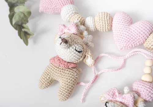 soft pink toys