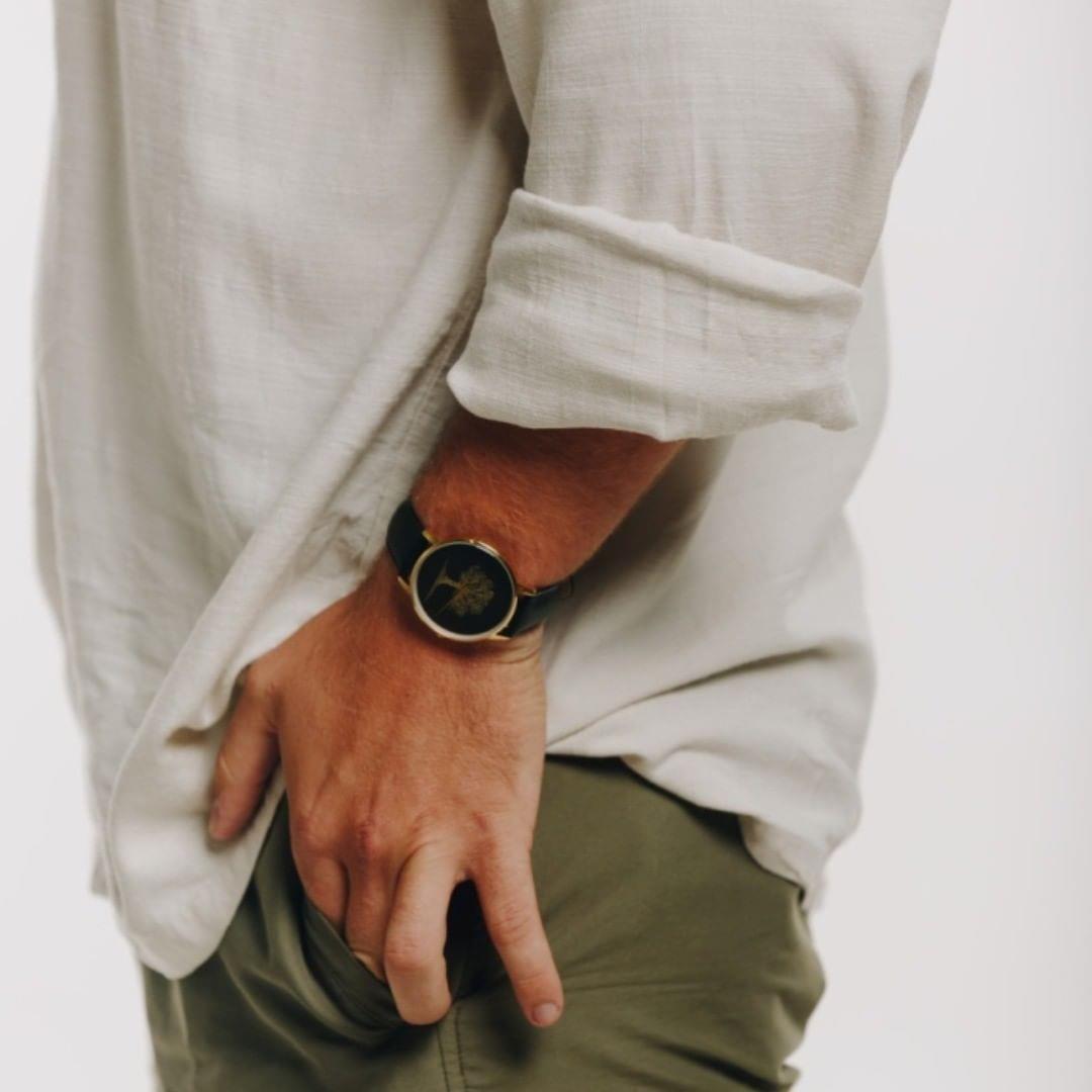 clean luxury watch