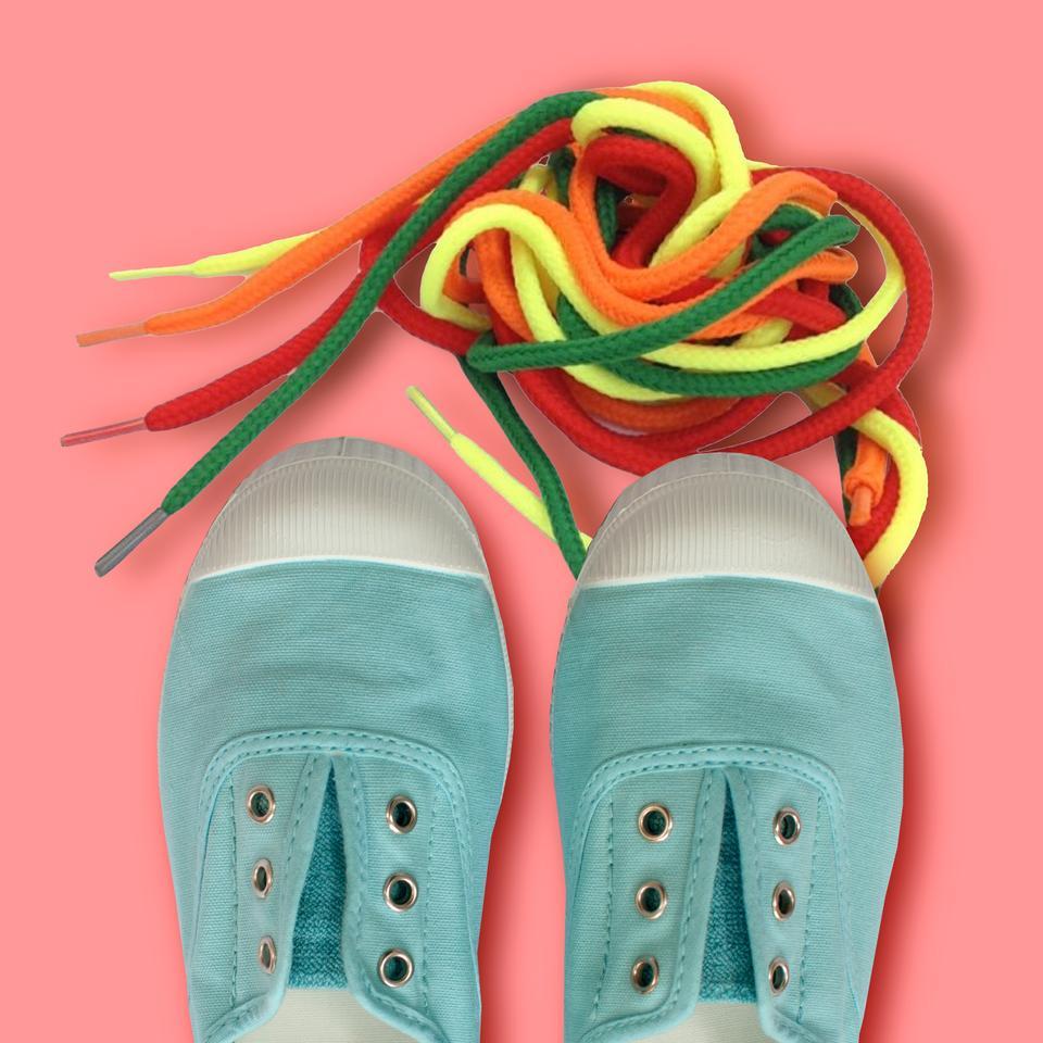 Lightweight Easy Sneakers in sea blue