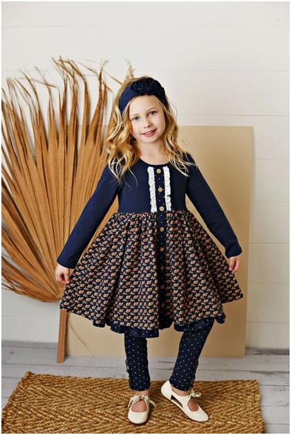 Girl in popular girl's clothing by Shoe Strings